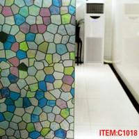 C1018 Sticker khusus kaca, kaca patri III