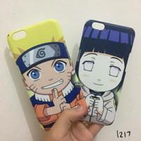 Case Couple Anime Naruto (Custom) bisa tambah nama / request gambar