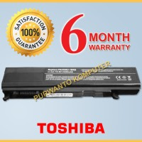 Baterai Laptop TOSHIBA Qosmio F20 F25 Series - 6 Cell