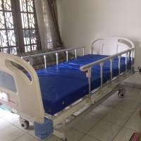 tempat tidur rumah sakit + kasur