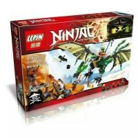 Lego Compatible Lepin 36 Ninjago the Green NRG Drago Murah