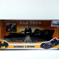 Jual Batmobile 1989 jada 1:24 diecast with batman die cast Murah