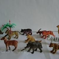 hewan kebun binatang mainan anak taman safari animal kado hadiah