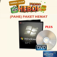 (PAHE) Windows 7 Ultimate DVD 64 32 Bit Original Full Warranty