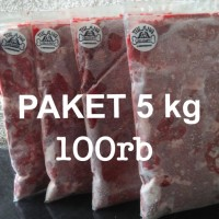 PAKET 5KG AYAM GILING/DOG FOOD/CAT FOOD/RAW DOG FOOD