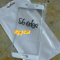 Kaca Lcd Kaca Depan Samsung S6 EDGE ORIGINAL