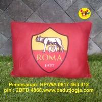Bantal Klub Sepak Bola AS Roma - Italia - size 30 x 40 cm