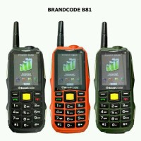 HP Outdoor Brandcode B81 bisa Powerbank 10.000 mAH dual sim murah