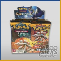 Jual MURAH! Kartu Pokemon SUN & MOON Booster Pack + Bonus 1 Card Original Murah