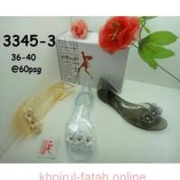 Jelly shoes slide flower sofiya 3345-3