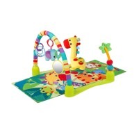 Bright Starts 4 In 1 Jungle Discovery Activity Gym Bouncer & Playmat
