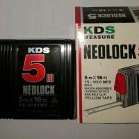 measuring tape KDS 5M measure meteran NEOLOCK 5 m Meter Murah