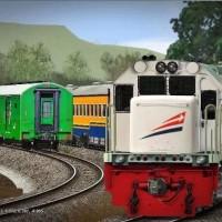 Asik seru Game Permainan Simulator Kereta Api Indonesia Trainz