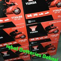 aki motor yuasa YTX9-BS Kawasaki Ninja 250 cc