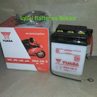 Aki Motor YUASA 6N4-2A-2 Yamaha V75,RX S,RX Special ,LS3 ,YT115