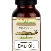 Happy Green Pure Emu Oil (5 ml) - Minyak Burung Emu Murni Natural
