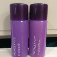 INNISFREE ORCHID SKIN & LOTION Sample (ORIGINAL From KOREA)