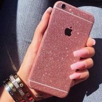 Garskin Skin HP Glitter murah iphone samsung oppo advan vivo xiaomi
