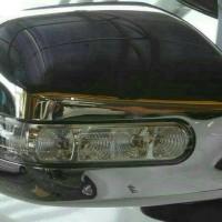 COVER SPION + LAMPU MOBIL ALL NEW AVANZA /XENIA LAMPU BESAR CHROME