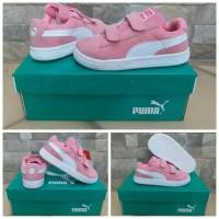 Sepatu Anak Puma Pink Perempuan High Quality Premium