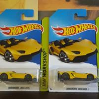 Hot Wheels Lamborghini Aventador J Kuning