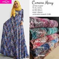 cemara maxy / gamis jersey super / gamis busui / dress muslim