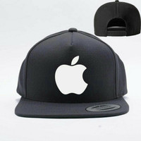 TOPI SNAPBACK APPLE LOGO - DENNIZZY CLOTHING 4a033cd70f