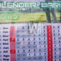 KALENDER BARIS 2018 DINDING, LENGKAP ( MASEHI, JAWA, HIJRIYAH )
