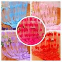 TIRAI LOVE / TIRAI BENANG MOTIF / TIRAI PINTU / JENDELA / KOREAN STYLE