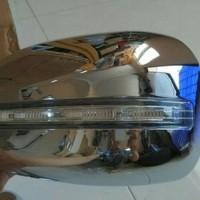 COVER SPION + LAMPU MOBIL ALL NEW AVANZA /XENIA /VELOZ CHROME