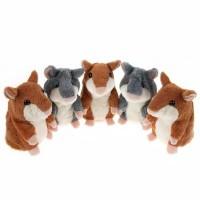 Lovely Talking Hamsters / Hamster berbicara/ Plush Hot Toy