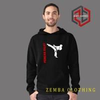 Hoodie Pencak Silat - Hitam - ZEMBA CLOTHING