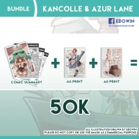 BUNDLE Kancolle Comic Summary + 2x A6 Print