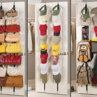 Storage Bag Rack Organizer As Seen on TV Rak Gantung Dinding Tas Topi