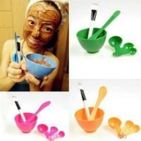 Harga mangkok masker peracik wajah diy 4 in1 bowl tool tempat kuas   Pembandingharga.com