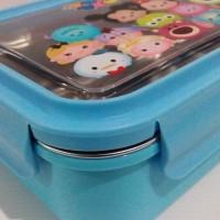 Lunch box stainless / Sekat 2 / tempat makan / kotak bekal / premium