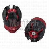 Pelindung Tutup Cover Bandul - Jalu As Roda Depan 1505 Igawa Merah