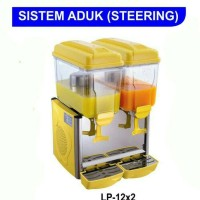 Juice Dispenser 2 Tabung 12x2 Liter / Dispenser Pending Murah