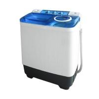 Denpoo DW-828SG Mesin Cuci 2 Tabung - Putih Biru [7Kg] hanya JADETABEK
