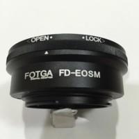 NEW FOTGA LENS ADAPTER ,LENSA CANON FD TO CANON EOS M / FD - EOSM