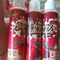 Strawberry Milkshake Creme 55ml Premium Liquid by Unicorn Asia Vape