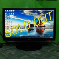 LCD Monitor Komputer LG 22inch wide W2253s Full HD