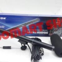 Mic Kabel Condensor SAMSON C02 Telecopic Profesional Shotgun - pendek