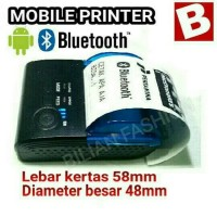 Bluetooth Printer 58mm Cafe Pawoon Olsera PPOB Paytren Kasir Toko