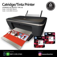 Catridge/Tinta Printer HP Deskjet Type 46 Colour Murah Surabaya