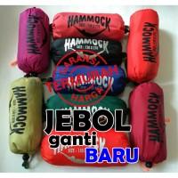 obral hammock single 270*150 / ayunan/ kuat/gratis webbing/bartex