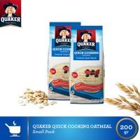 harga Quaker Quick Cooking Oatmeal Small Pack - 2 Pcs(as2-9556174802229) Tokopedia.com