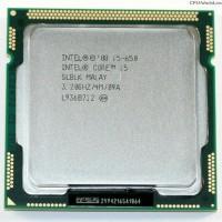 Processor Intel Core i5 650 3.2 GHz Tray with Fan LGA 1 Limited