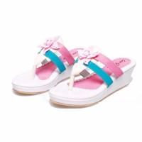 New sandal anak perempuan sandal pesta anak cewek wanita wedges bsm