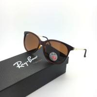 Kacamata Rayban Ray-Ban Erika Cris RB4128 4128 Polarized Cokelat